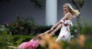 Ivanka Trump swinging Arabella