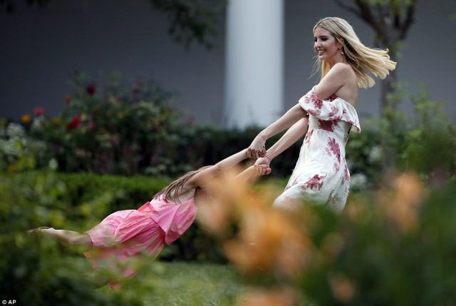 Ivanka Trump swinging Arabella