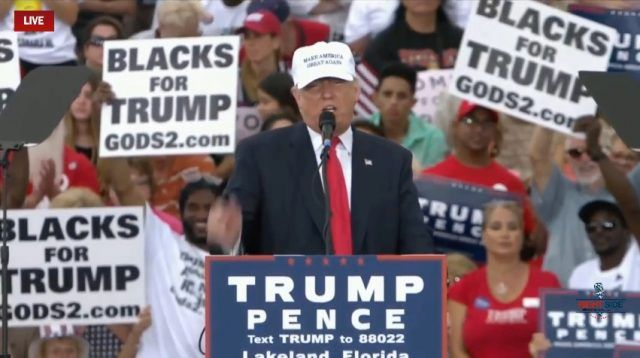 Black unemployment down under Trump