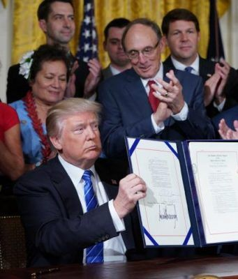 President Trump Signs Historic VA Accountability Act