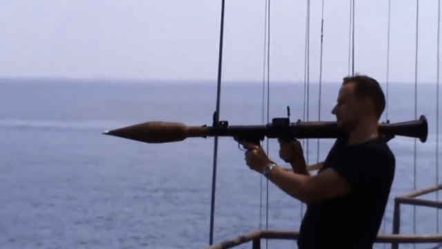 Pirates mess with Russian Navy.