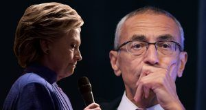 John Podesta and Hillary Clinton