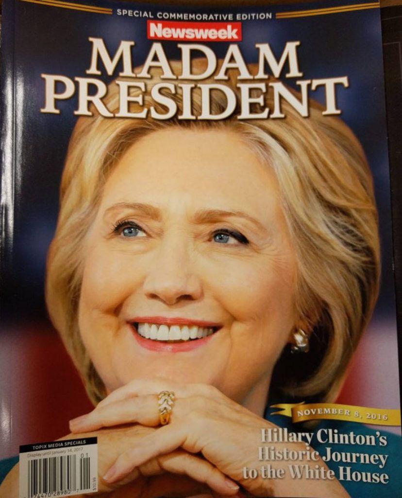 Crooked Hillary Newsweek
