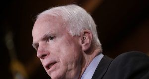 John McCain eye surgery more serious than thought