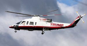 Trump helicopter crash in New York