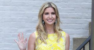 Ivanka yellow flora dress