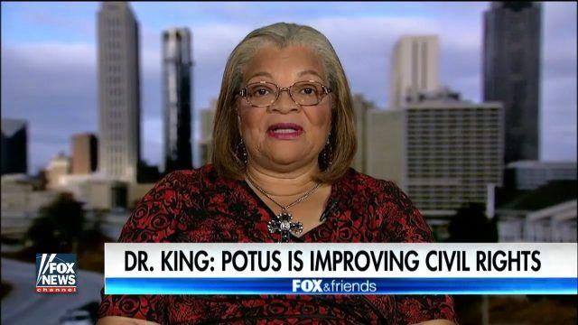 King says Trump brilliant and compassionate man