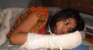 Hawa Akhter husband chopped her fingers off