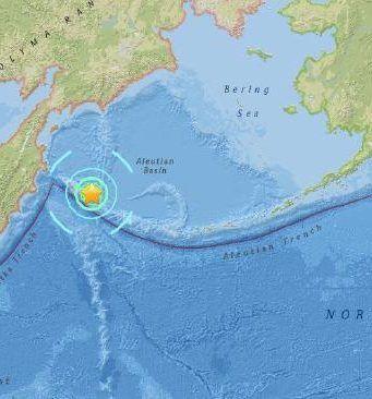 Earthquake off of Russia, tsunami warning