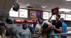 pizza fight!