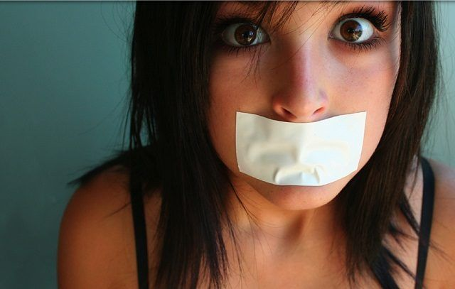 silenced for being white