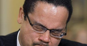 Rep. Keith Ellison unhappy