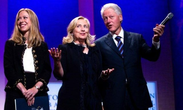 clinton foundation chelsea bill hillary