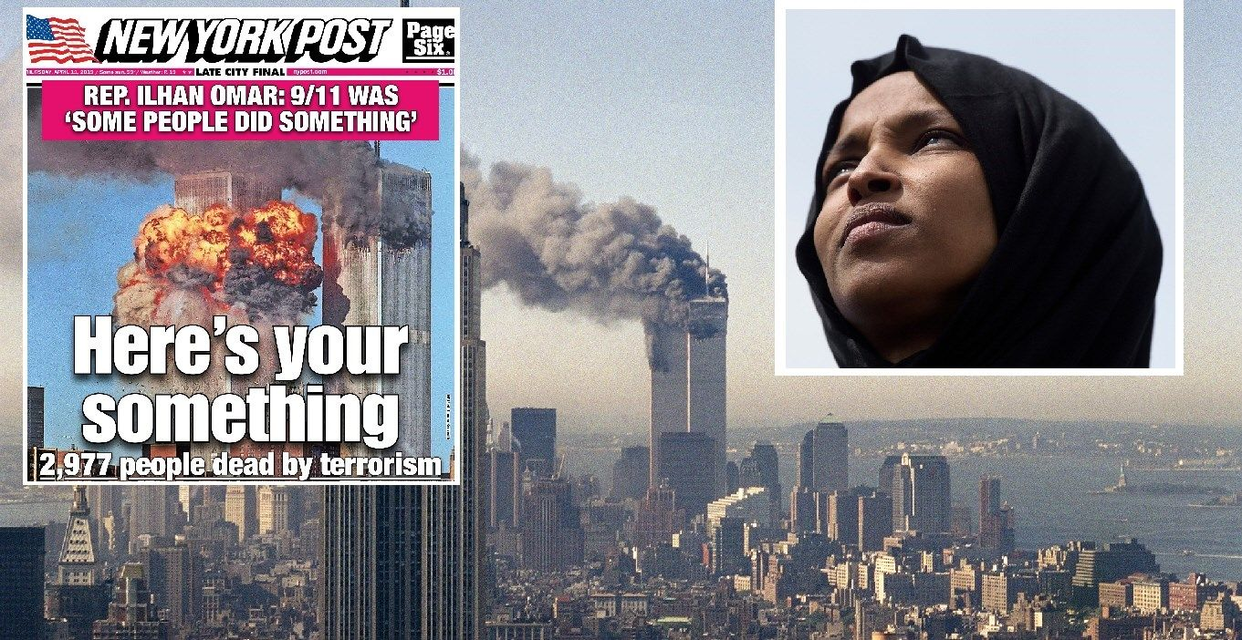new york post calls out ilhan omar 9  11 comments