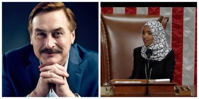 my pillow ceo mike lindell may run against ilhan omar