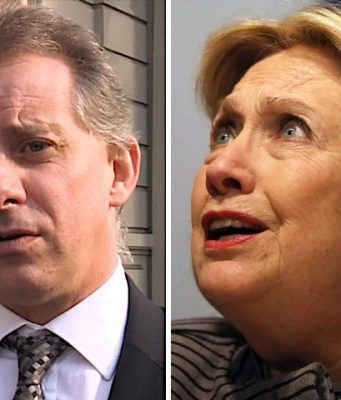 christopher steele & hillary clinton