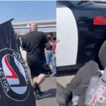 Screenshot_2021-05-16 Anti-Israel ANTIFA MOB Swarms California Highway Patrol Vehicle, Doesn't Go Well For Them